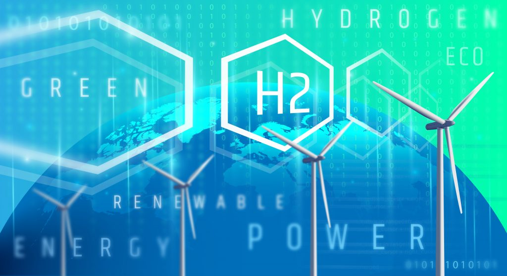 Green hydrogen is made by using clean electricity from renewable energy technologies to electrolyse water (H2O), separating the hydrogen atom within it from its molecular twin oxygen.